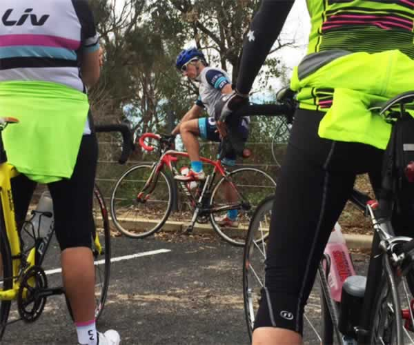 cyclists introductory training course perth